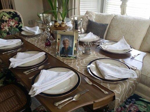Table Decorations 100th Birthday Gram100
