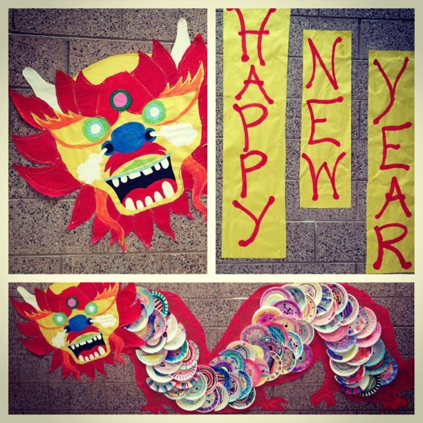My take on the paper plate dragon  sc 1 st  Pinterest & My take on the paper plate dragon   Chinese New Year   Pinterest ...