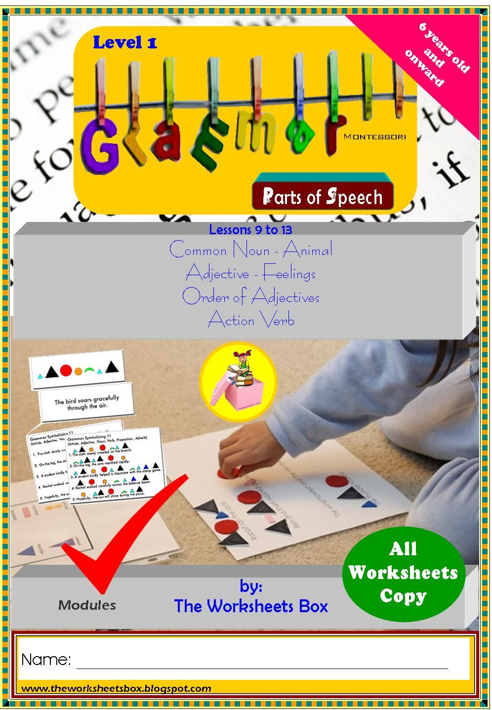 Pin by Ian on MONTESSORI GRAMMAR PLAY Reading words
