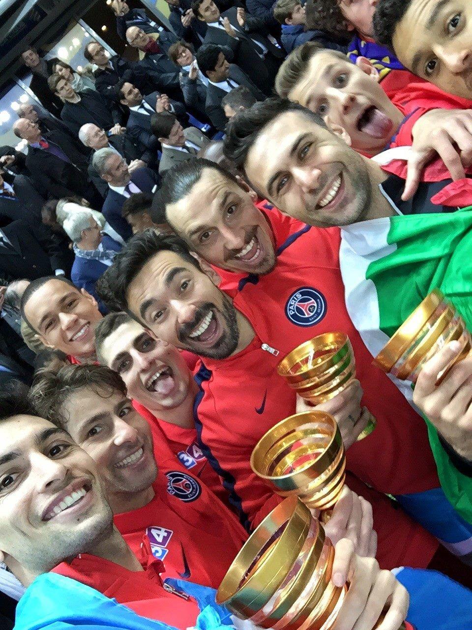 Ezequiel Lavezzi Bastia vs Paris Final Copa de la Liga
