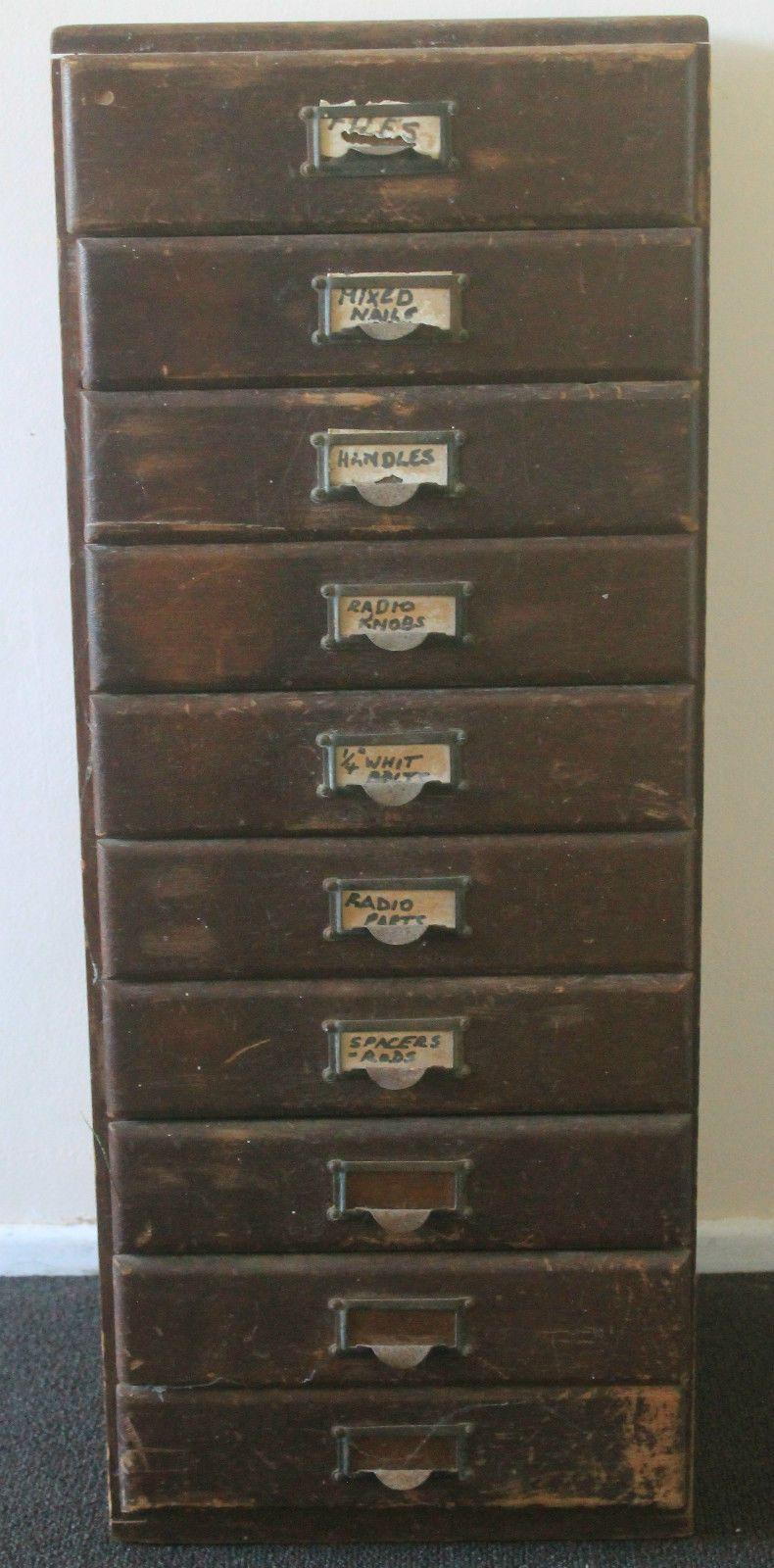 Retro Vintage Filing Cabinet Drawers In Brisbane Qld Ebay