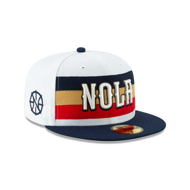 New Orleans Pelicans Nba Authentics Earned Series 59fifty
