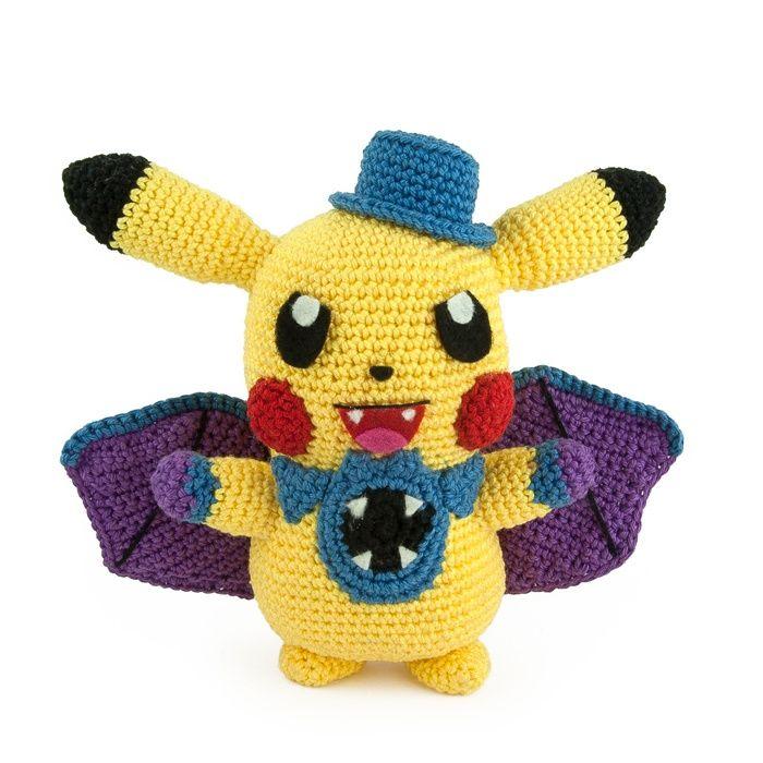 Haakpatroon Pikachu Halloween - Sabrina\'s Crochet | Amigurumi ...