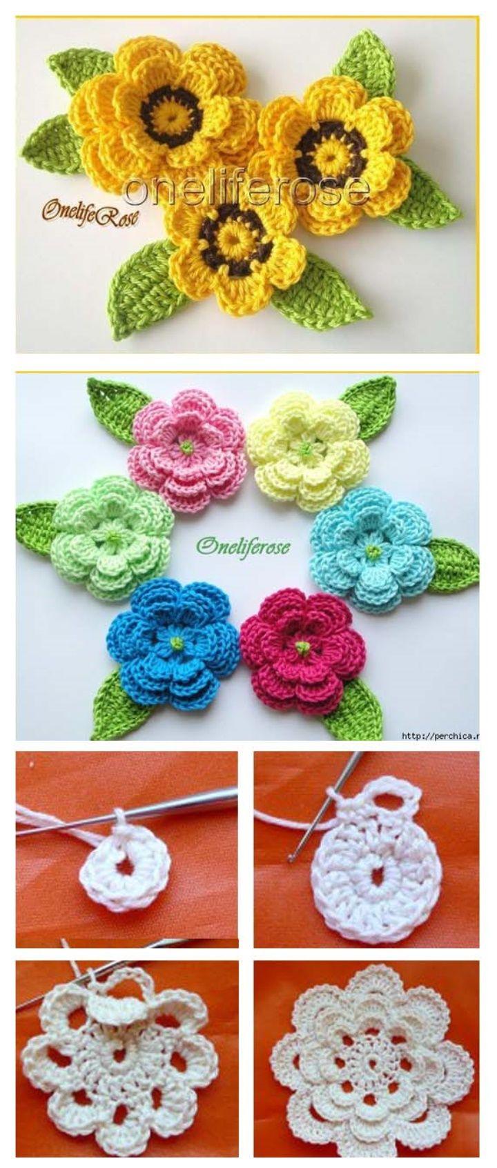 MASTERCLASS AND IRISH CROCHET ROSE SCHEMES #crochet #crochetaddict ...