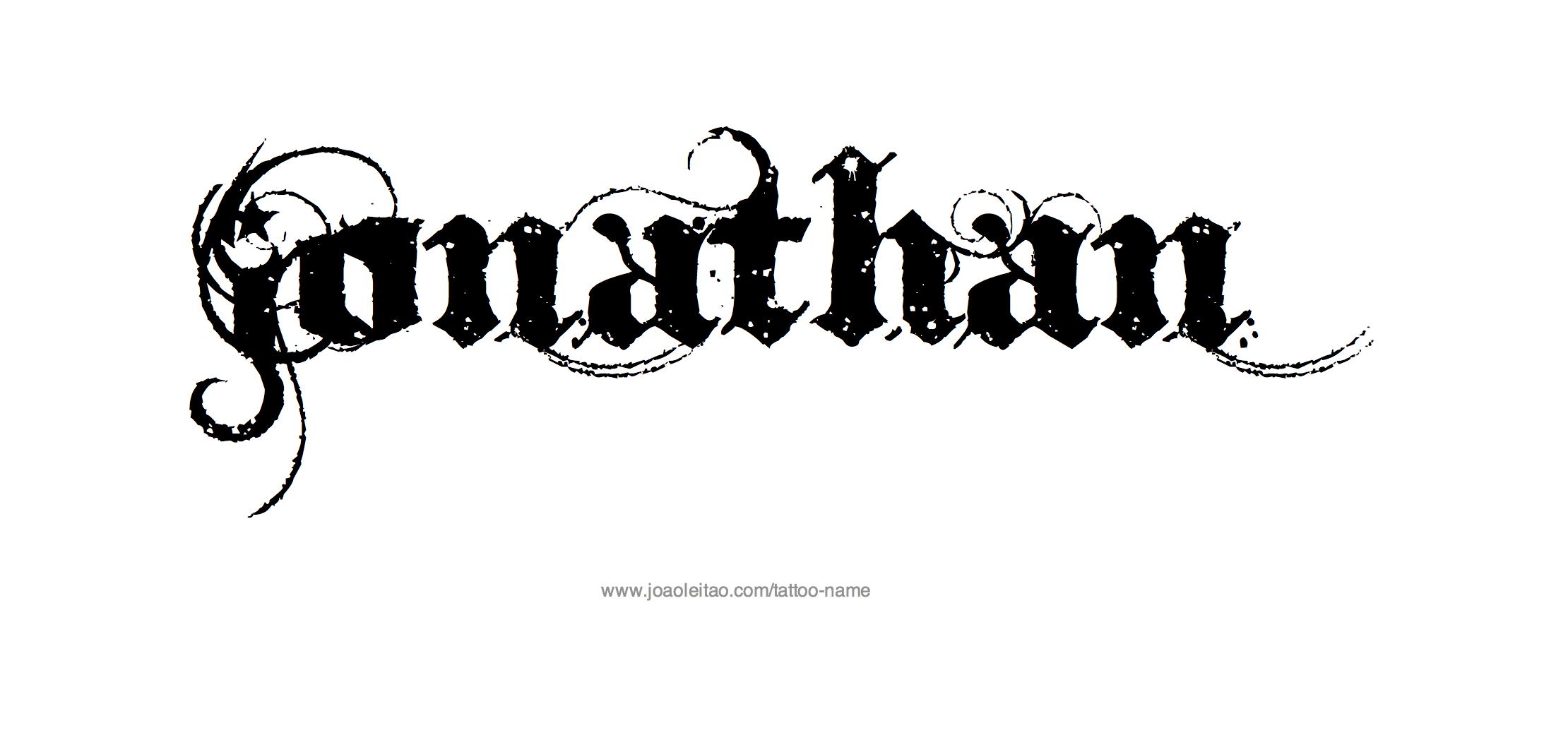 Jonathan Name Tattoo Designs Name Tattoos Name Tattoo Designs Name Tattoo