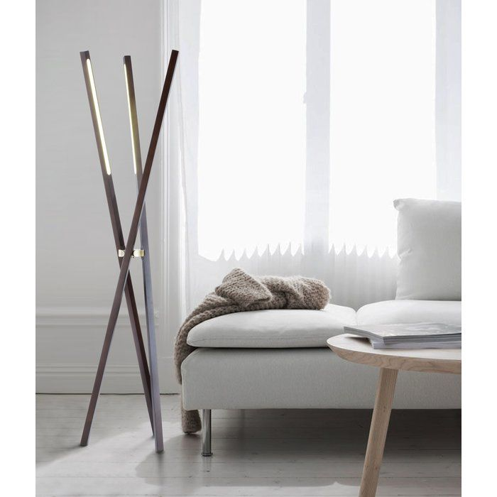 Whetsel 60 Quot Led Tripod Floor Lamp Tripod Floor Lamps Floor Lamp