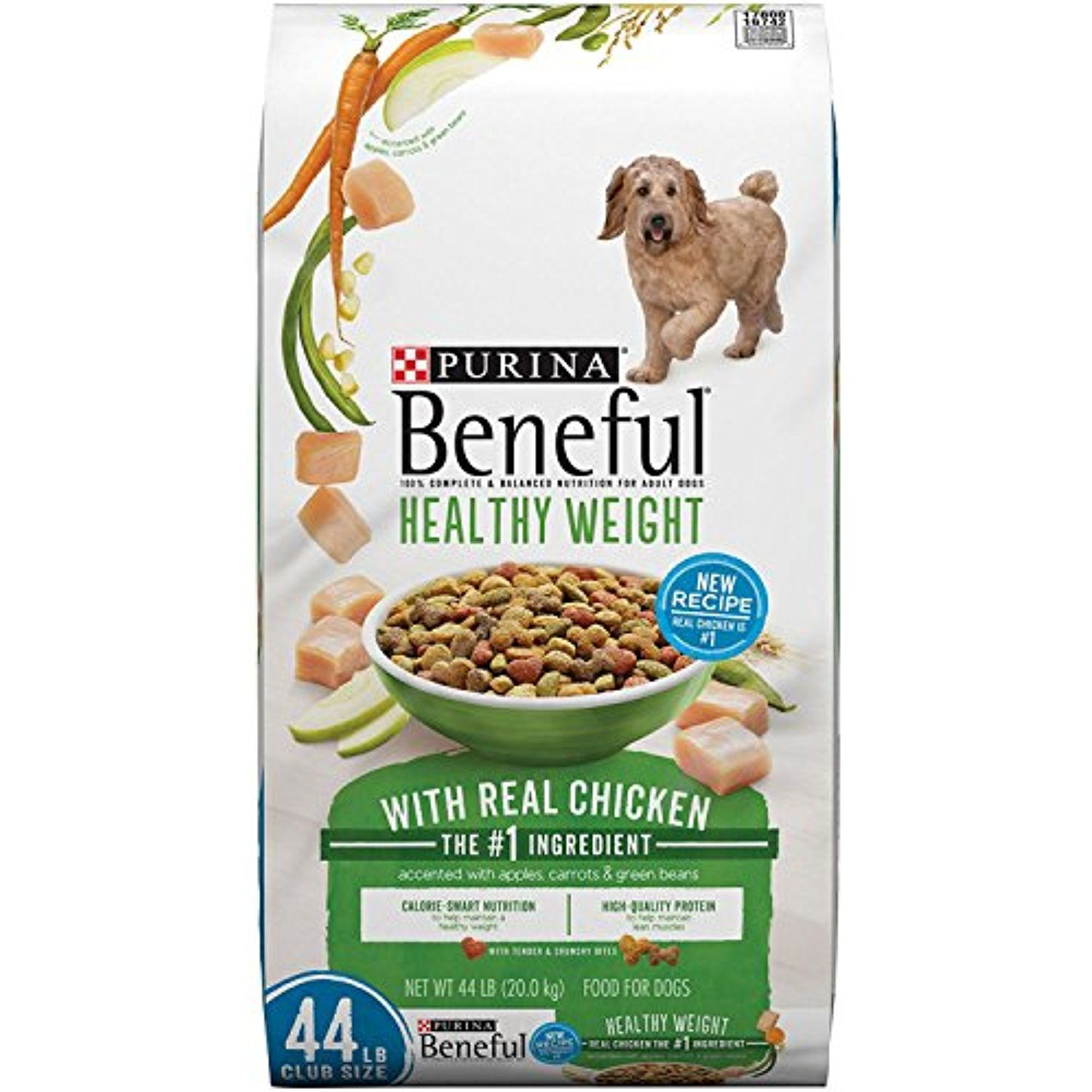 Beneful healthy weight adult dog food 44 lbs you