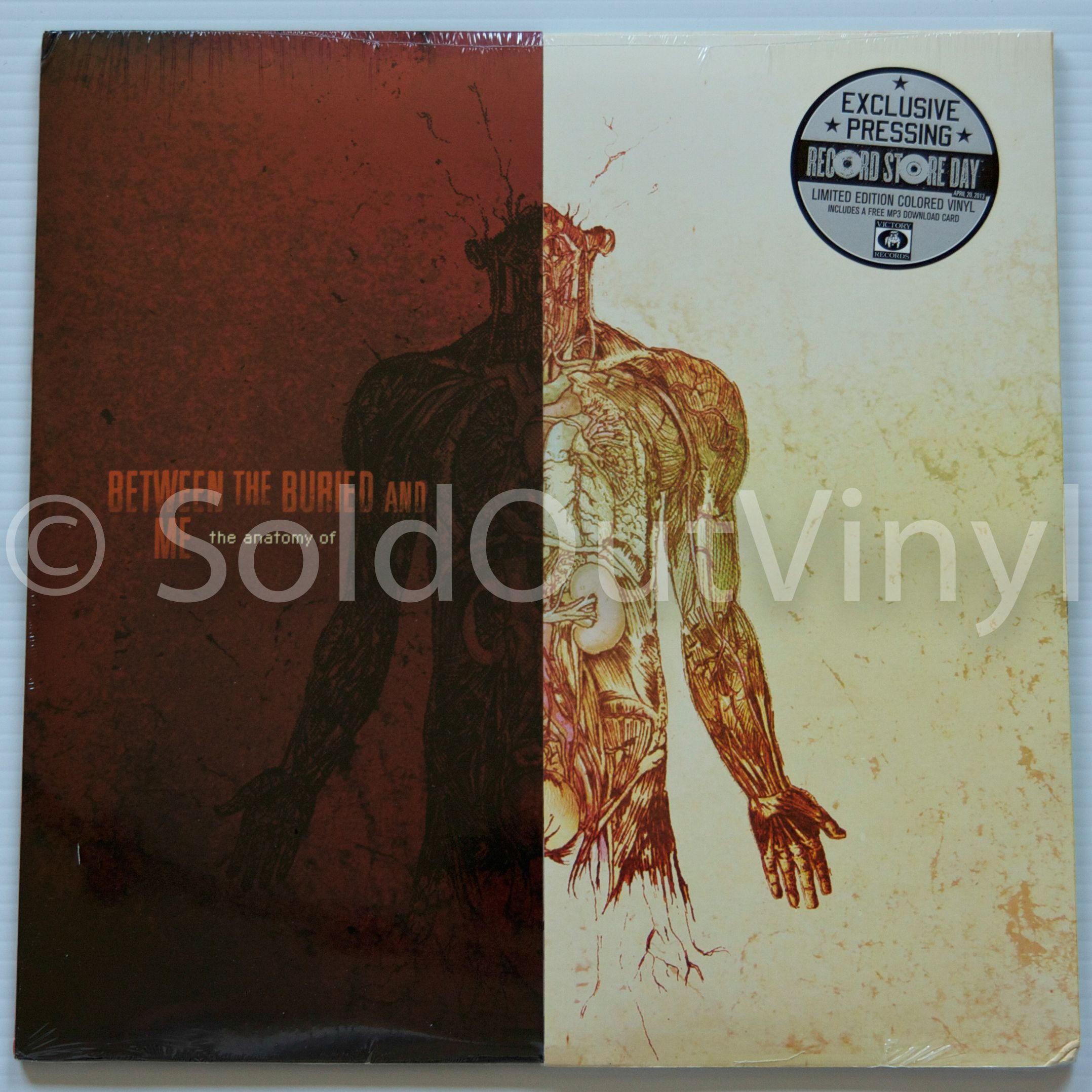 Between The Buried And Me The Anatomy Of Vinyl First Press Lp Soldoutvinyl Vinyl Record Store Anatomy