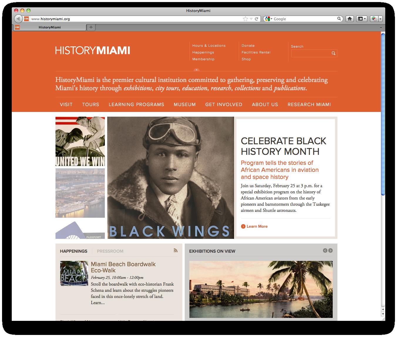 Website Black History Month Program Celebrate Black History Month Visit Tour