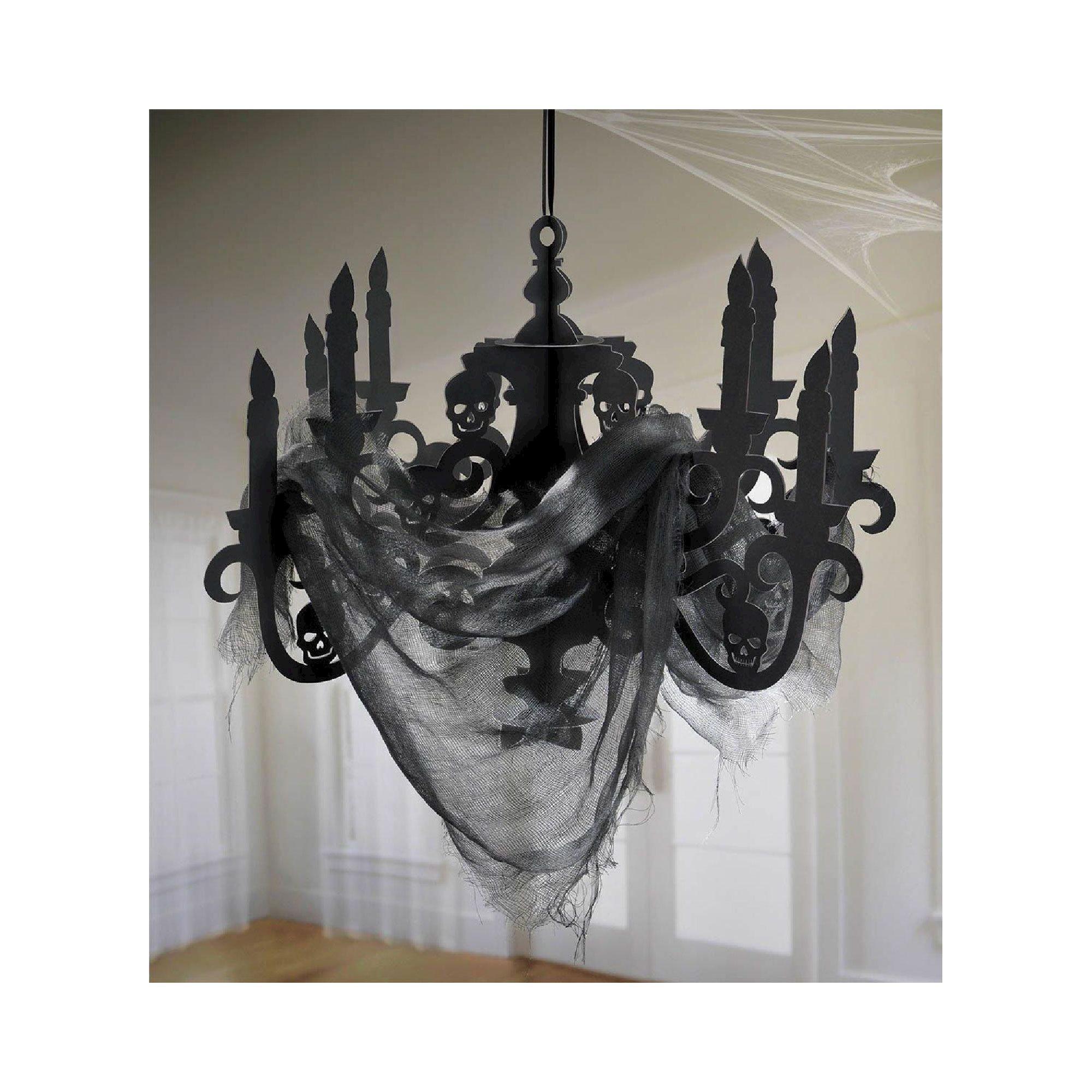 Halloween Hanging Candelabra Halloween chandelier