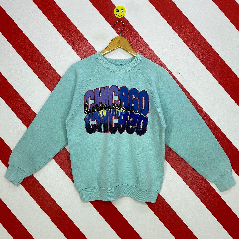 Vintage 90s Chicago Sweatshirt Chicago Crewneck Chicago State Etsy In 2021 Sweatshirts Chicago Print Print Logo [ 3000 x 3000 Pixel ]