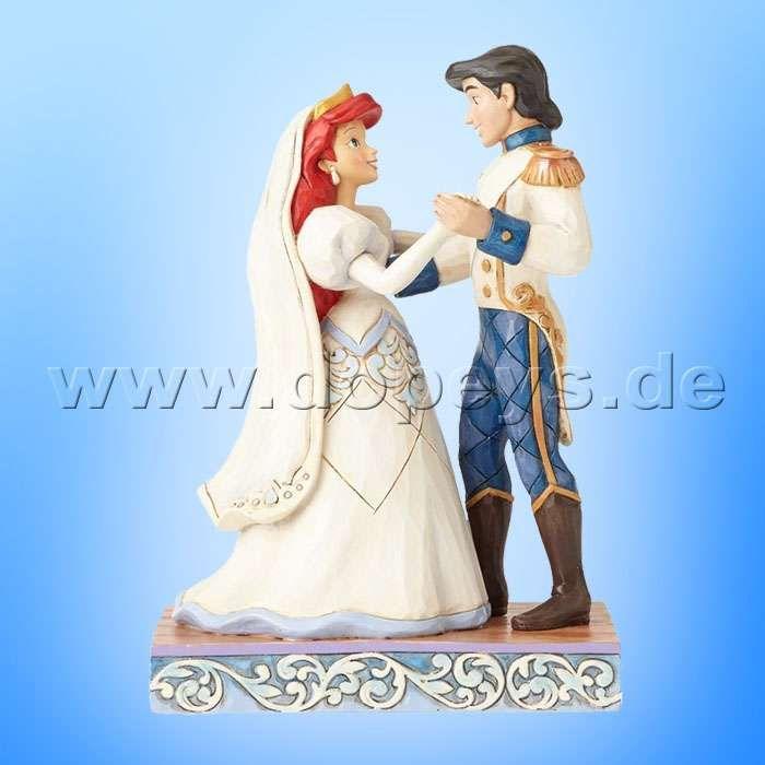 Disney Traditions Jim Shore Figur Arielle Eric Hochzeitsfigur Wedded Bliss 4056749 Die Kleine Meerjungfrau Disney Hochzeitsideen Disney Collection