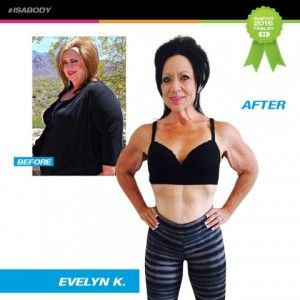 Isa Body Finalist Evelyn | Christine McLean, Nutritional Coach