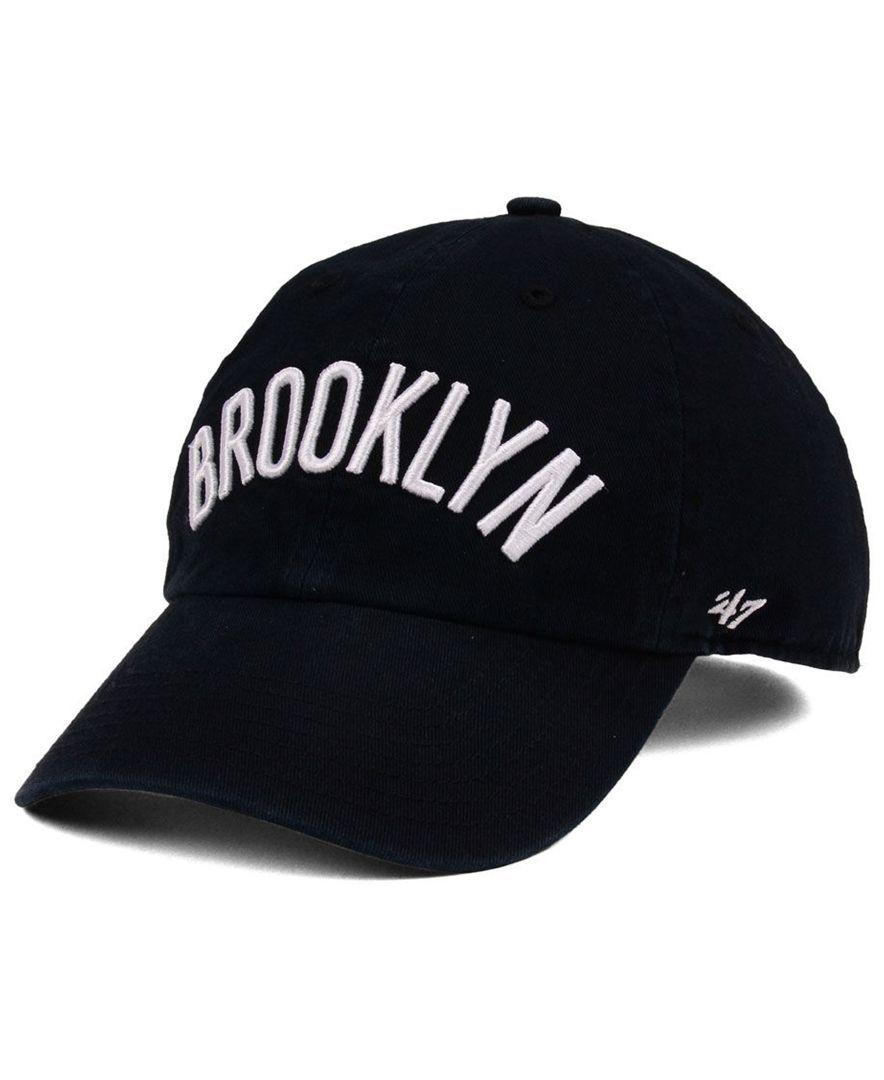 ae5b8b825fd3b ... release date 47 brand boys brooklyn nets clean up cap sports fan shop  by lids men