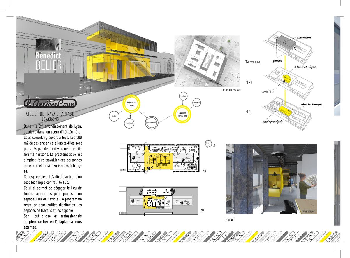 Portfolio architecture intérieure de nos étudiants | Ecole ESAIL ...