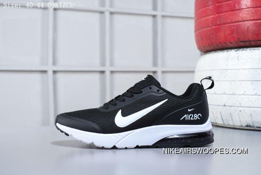 Fracaso Disfraces Celda de poder  Nike Air Max 280 Half Palms Air Cushion Mens Running Shoes 02001021 Black  White Best | Running shoes for men, Nike air, Nike air max