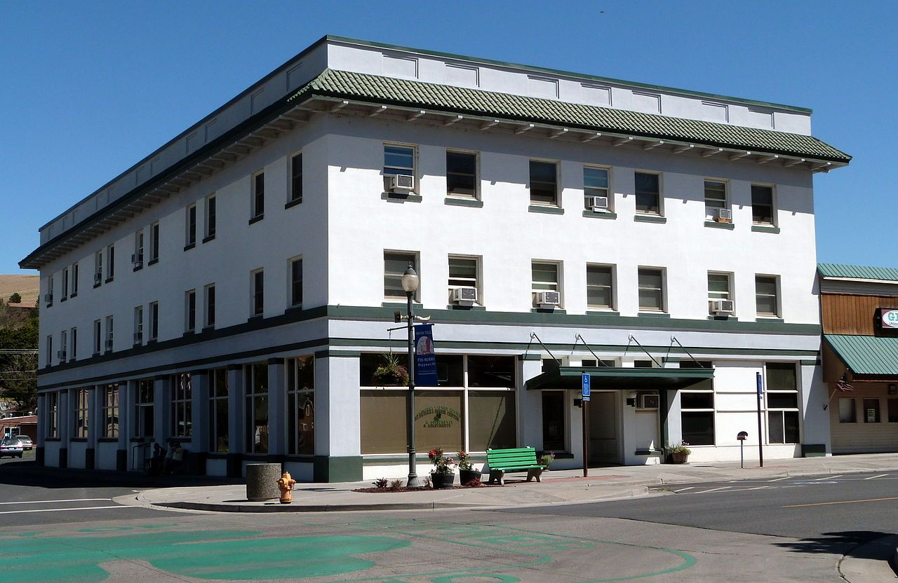 Heppner hotel in morrow county oregon national