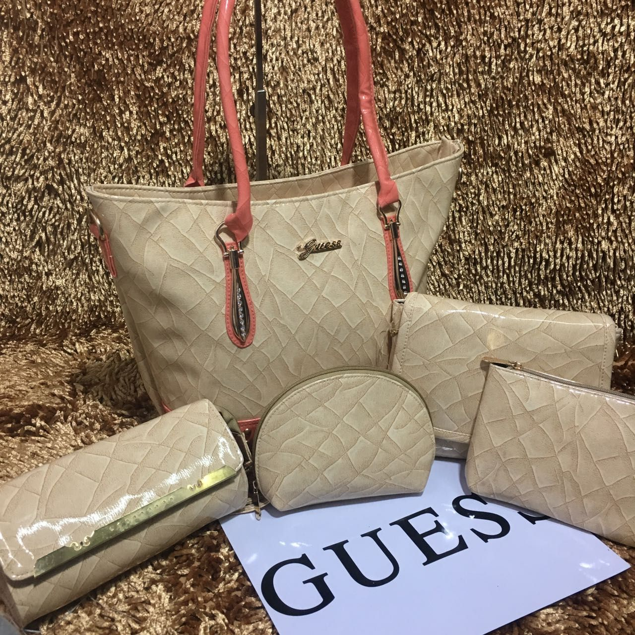 Guess Bag 5 Pcs Combo ping us on our Official No