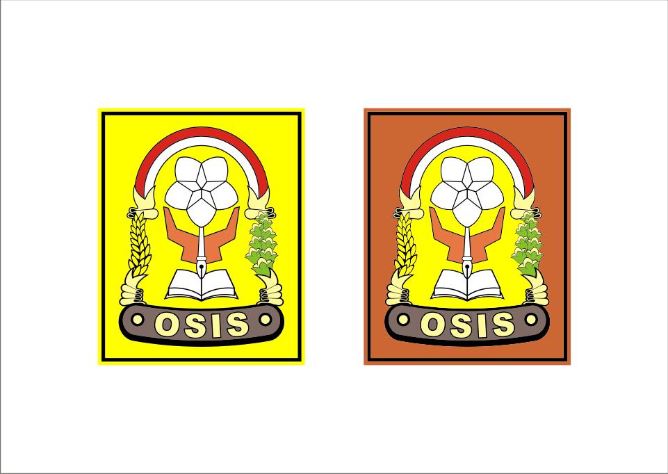 Logo Osis Vector cdr Lencana, Desain, Anak