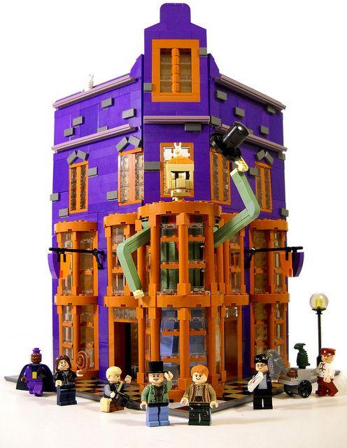 Weasleys Wizarding Wheezes Lego Harry Potter Harry Potter Lego Sets Legos