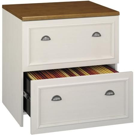 Bush Fairview 2 Drawer Lateral File Cabinet Multiple Finishes Office Furniture File Cabinets Lateral File Cabinet