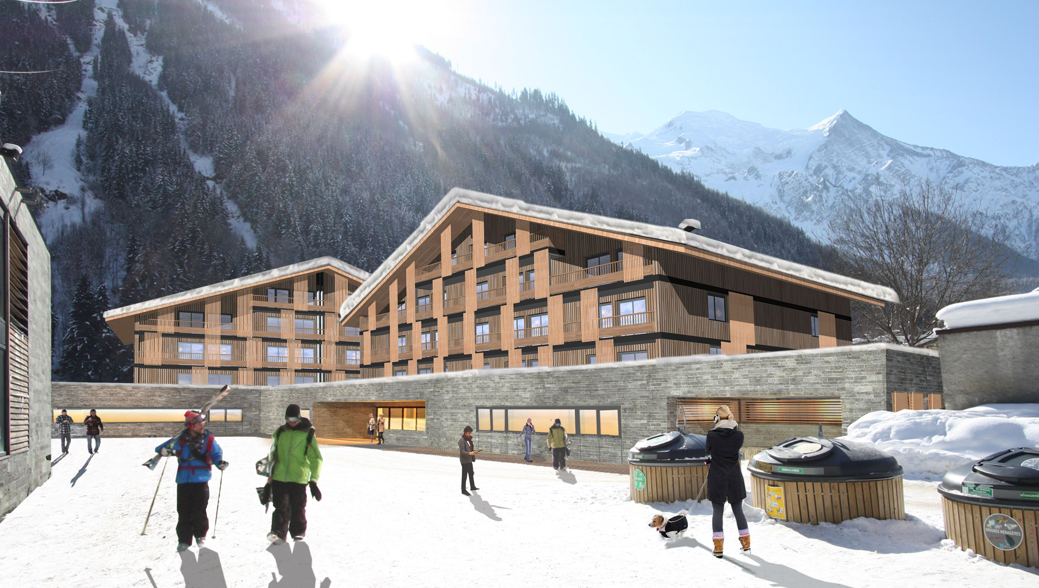 Hotel Heliopic Sweet Spa Chamonix Mont Blanc Oteller