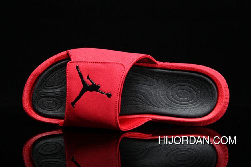c5c4c19d36d17 Air Jordan Hydro 6 Sandals 881473-600 881474-6017 Red Best