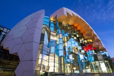 Geelong Library Heritage Centre By ARM The Shape Of Building Is A Nod To Domed Reading Rooms World Famous Public Libraries Such As