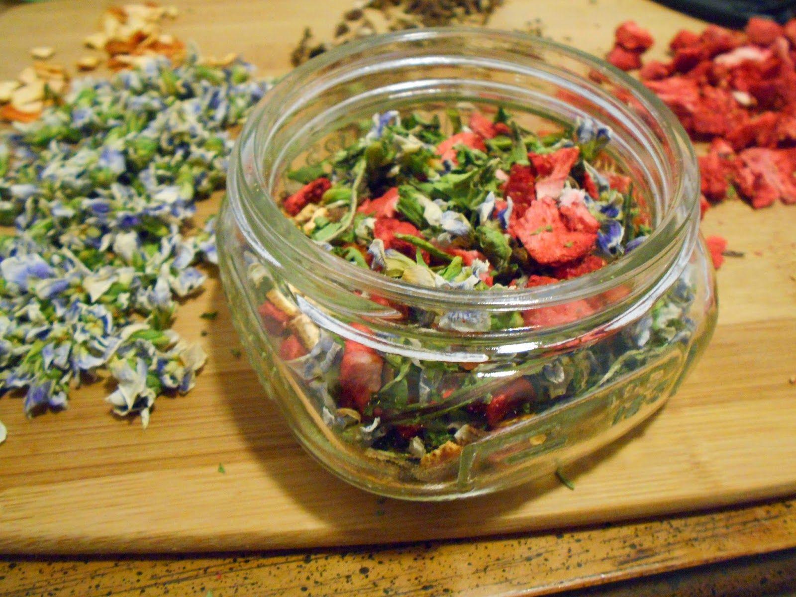 Wild Herbal Tea Recipe