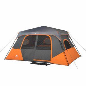 SL - Walmart Ozark Trail 8 Person 2 Room Instant Cabin Tent 150 60 sec set up  sc 1 st  Pinterest & Ozark Trail 8 Person 2 Room Instant Cabin Tent | Camping ...