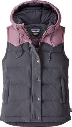 b9758505c9b Patagonia Women's Bivy Hooded Down Vest Smolder Blue XL