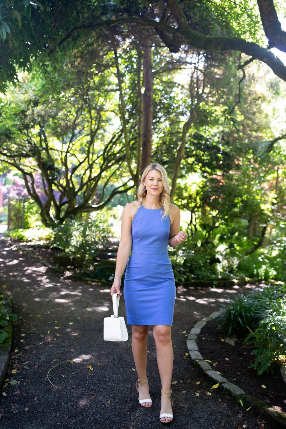 The Perfect Summer Sheath Dress With Images Dresses Periwinkle Dress Sheath Dress [ 1500 x 1000 Pixel ]