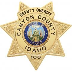 US State of Idaho, Canyon County Sheriff Office Badge | Police