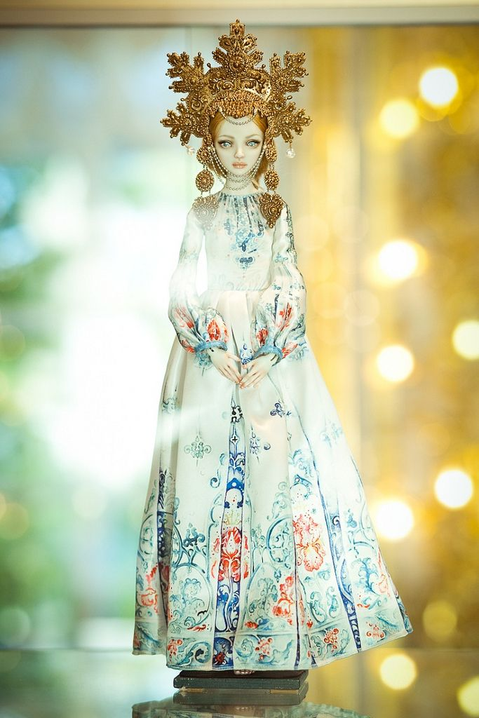 Enchanted Doll at the Catherine's Palace in St. Petersurg
