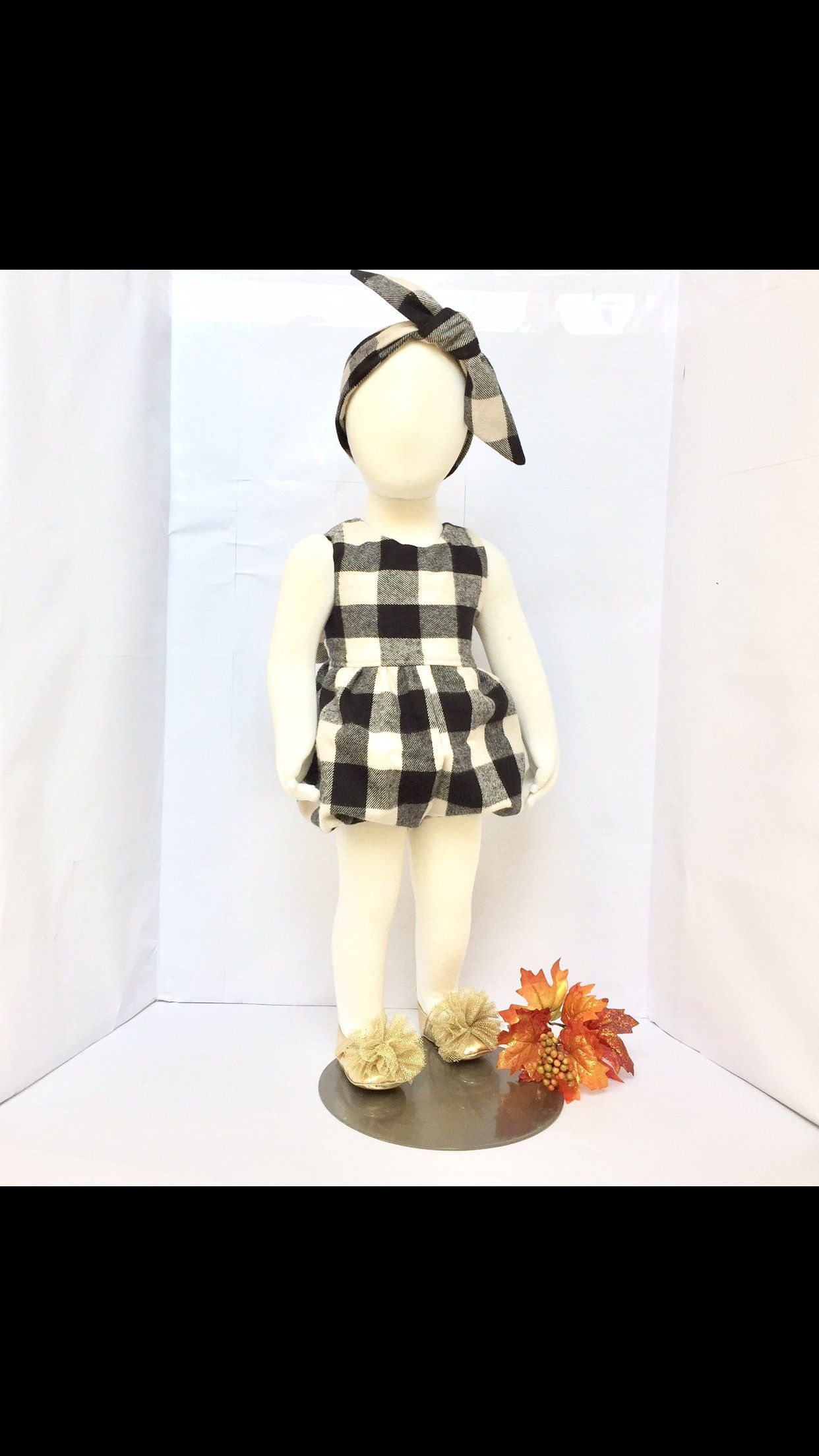 878910adcf5f Buffalo Check toodler  girls romper  Thanksgiving dress  Holiday romper  Girls  romper  Buffalo Plaid dress  Thanksgiving outfit by PlayTogs on Etsy