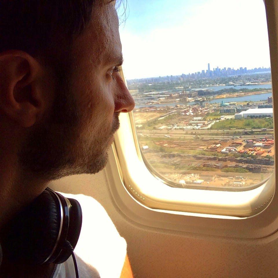 Landing in Newark - Welcome to #SasaYork #NewYork #NYC #Newark