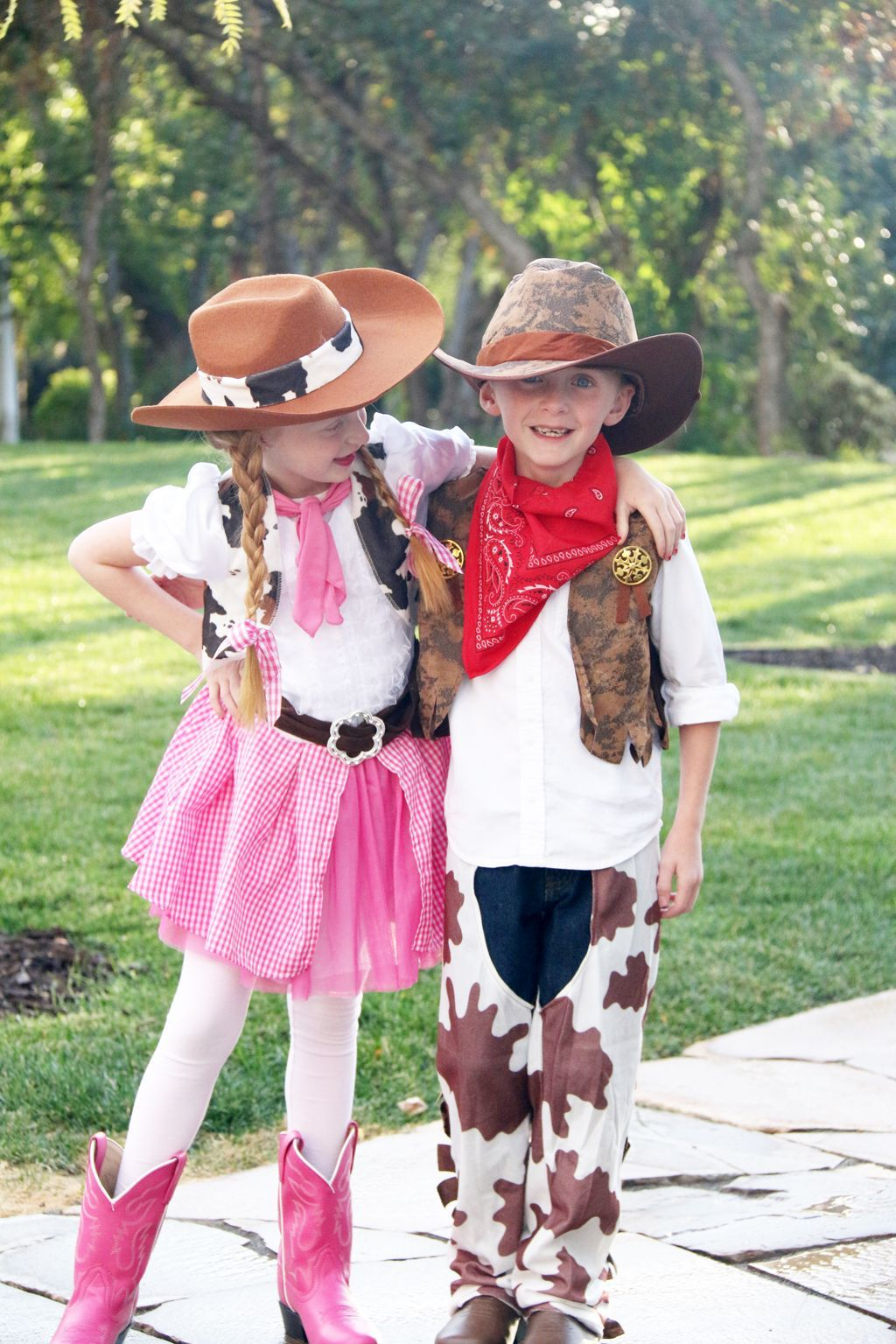 Boy Girl Twin Costume Idea-Cowgirl and Cowboy | Twin ...