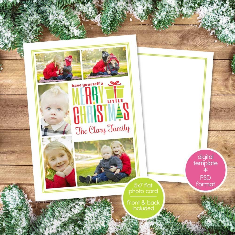Christmas Card Template For Photographers Photoshop Psd Christmas Photo Card Christmas Card Template Christmas Photo Card Template Christmas Photo Cards