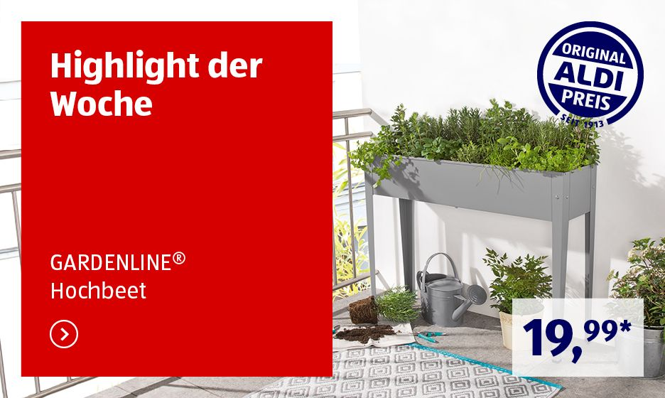 Aldi Sud Angebote Ab Do 19 3 Aldi Sud In 2020 Aldi Sud Angebote Aldi Werbung Gardenline