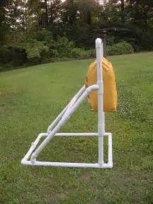 this is a new homemade archery target bag stand made of ...