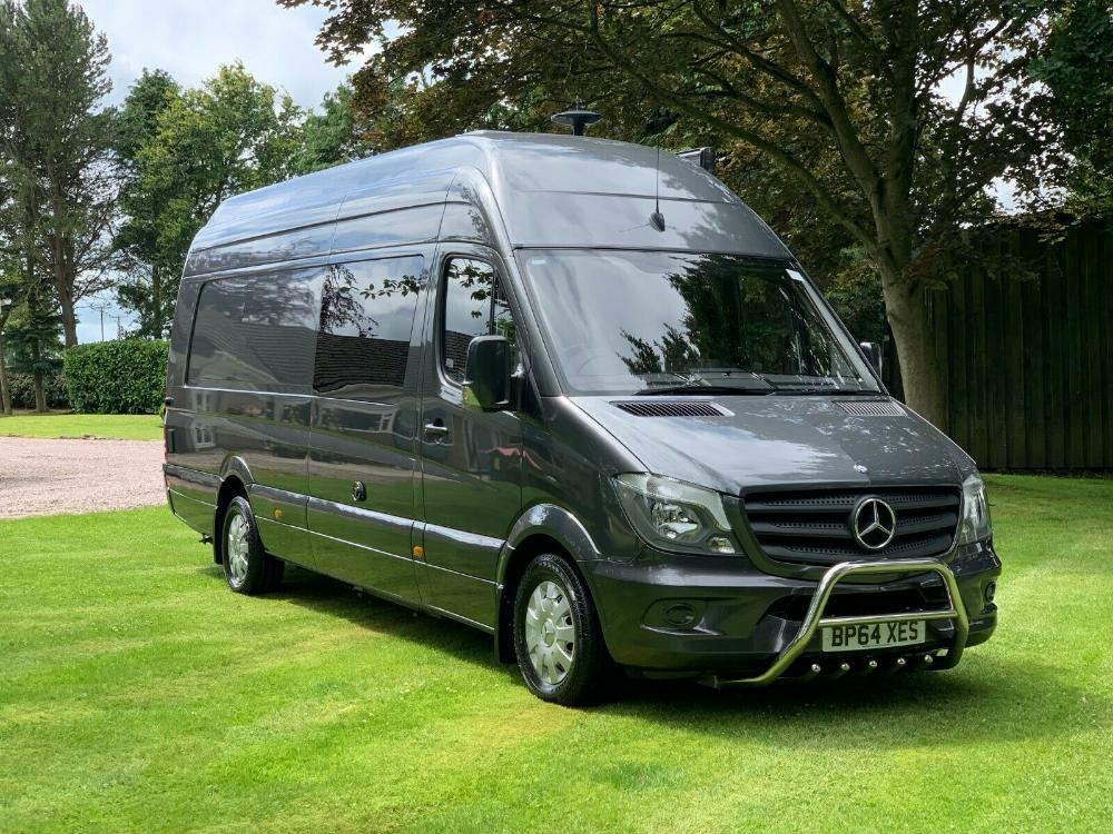 Mercedes Sprinter Motorhome Camper Race Truck Van Motocross Van Xlwb Xhr No Vat Ebay Karavanda Yasam Karavanlar Arabalar