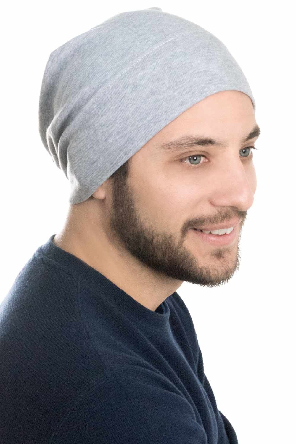 c09478946b987a Hats for Guys | Mens Relaxed Cotton Beanie in 2019 | Chemo headwear ...