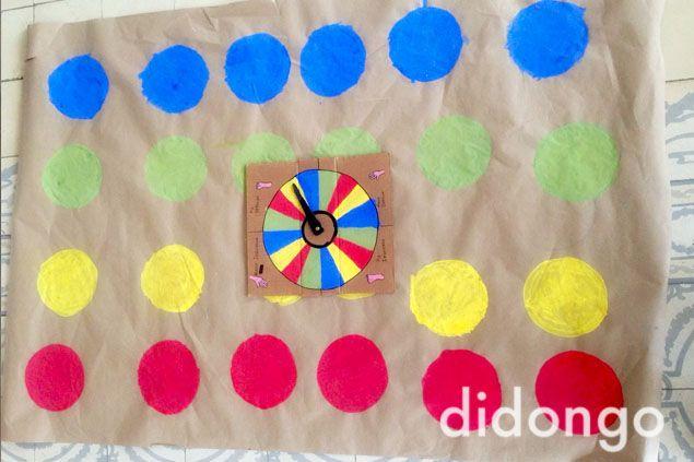 Paso A Paso Para Realizar Un Twister Casero Y A Jugar Ideas Para