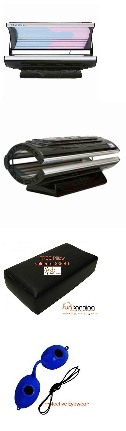 Solar Storm 24s 110v Tanning Bed With Face Tanning Free Shipping