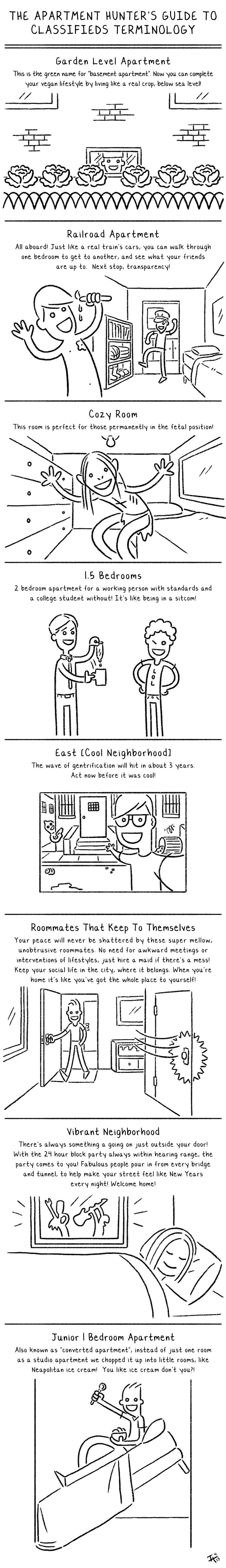 Mashable Just Posted My Comic On Apartment Hunting!