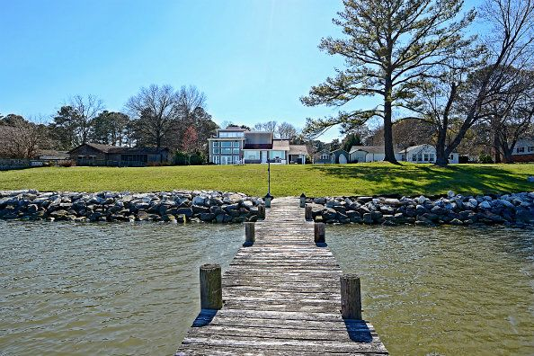 Sold Golden Beach Waterfront Home For Sale Beautiful Mechanicsville Md 20659 Property For Waterfront Homes For Sale Maryland Real Estate Chesapeake Beach