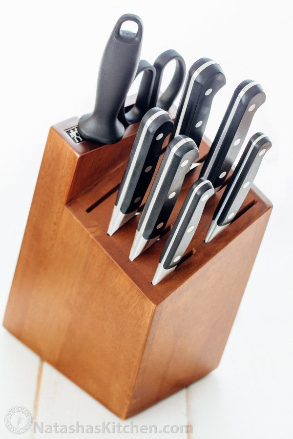These Zwilling J.A. Henckels knives are exceptional. Every knife in this block will become your favorite! Read the review and see why we love these knives! - natashaskitchen.com