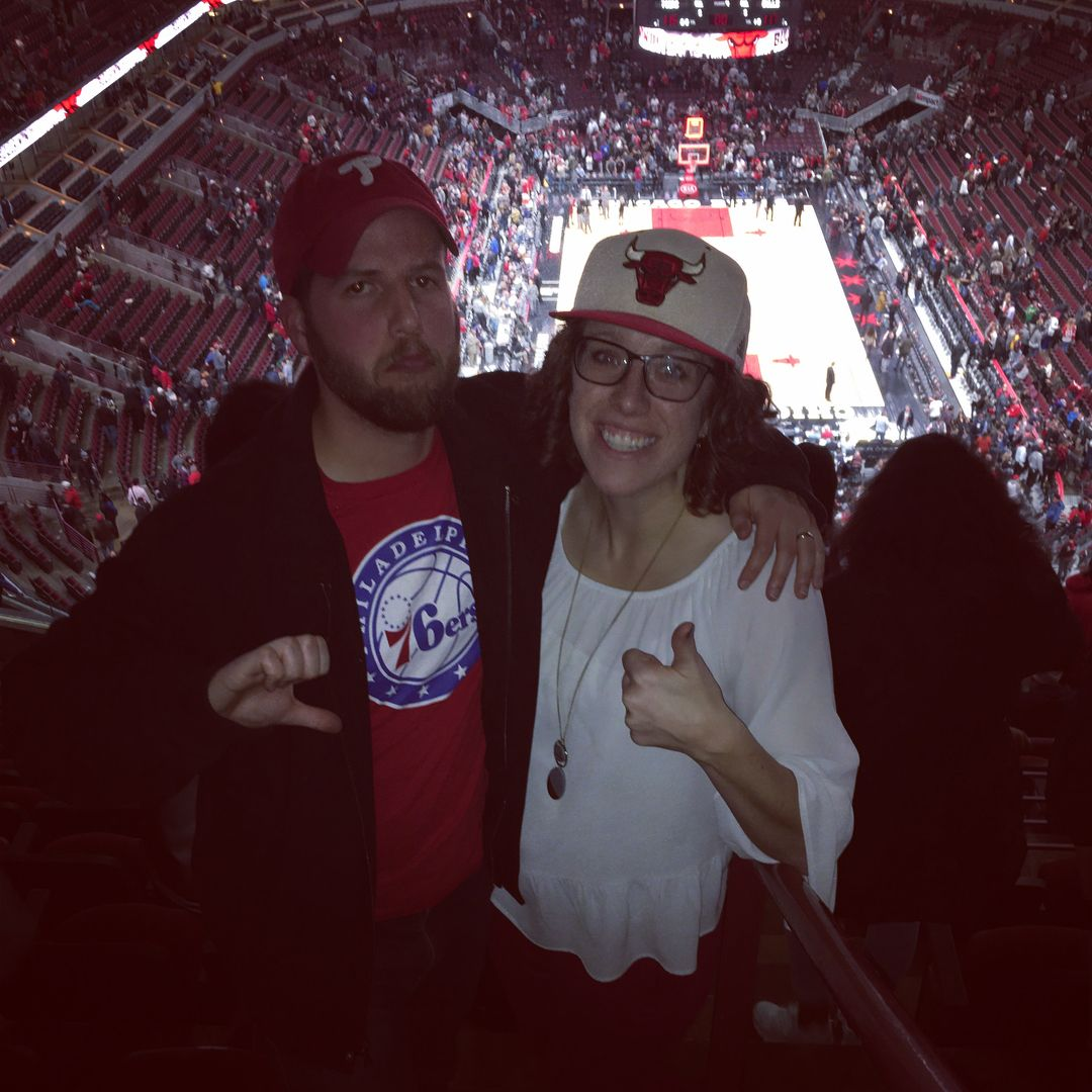 housedivided at the united center but there