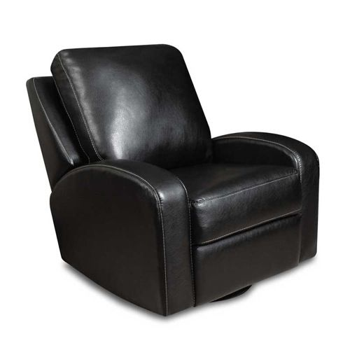 Put Your Feet Up 10 Retro Modern Recliners Black Leather