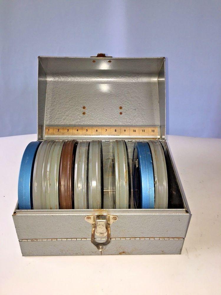 Vintage Movie Film Reel CaseStorage Case